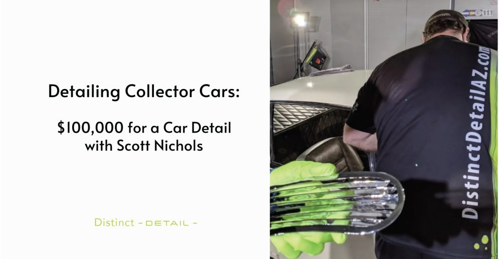 Detailing Collector Cars